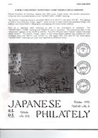 JAPANESE PHILATELY October 1993 VOL 48 N°5 - Magazines
