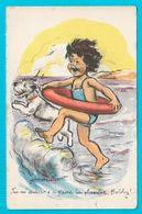 Bouret Germaine  Tu M'aideras à Faire La Planche Bobby ! éditions Les Flots Bleus Voyagée 1961 - Bouret, Germaine
