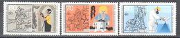 Berlin - Für Die Jugend - 1987 - Stonemason - Furrier - Painter - MNH - Stamps