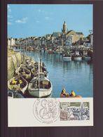 "France, Carte Maximum Du 23 Avril 1977 à Paris "" Europa Port De Bretagne "" - Cartes-Maximum"
