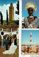 LOT DE 530 CARTES DU MONDE ENTIER  PERIODE  A PARTIR DE 1960  REF02 - Cartes Postales