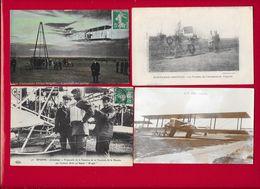 AVIATION - Lot 12 Cpa Diverses Dont Animées - Voir Scans - Aviation