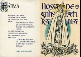 55677 Portugal, Stationery Double Card, Entier 1$00 Cartao Postal, Nossa Senhora De Fatima,madonna, See 2 Scan - Ganzsachen