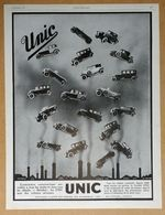 1927 Automobiles UNIC Puteaux - Gévelot D'après Benjamin Rabier - Burberrys - Publicité - Werbung
