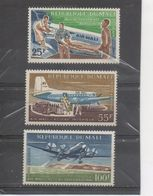 "MALI - Aviation - ""Air Mali"" - Compagnie Aérienne - Avions : Sanitaire, Service Intérieur, Service International - - Mali (1959-...)"