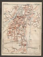 CARTE PLAN 1937 AUTRICHE INNSBRUCK - KARTE 1937 ÖSTERREICH - Topographische Karten