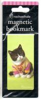 Kat  Boekenlegger  Signet Magnetisch Chat Cat Katze Bookmark Magnetic  Magneet Magnète Magnet - Dieren & Fauna