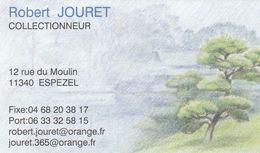 Robert Jouret - Collectionneur - 11340 Espezel - France - Visiting Cards