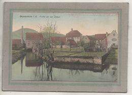 CPA - (67) DOSSENHEIM - Aspect Du Quartier Du Village Près De La Zinsel En 1911 - Carte Colorisée - Frankreich