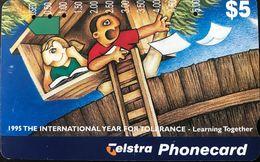 AUSTRALIE  -  Telstra  -  Cyclones Are Serious  -  $ 20 - Australia