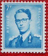 7 Fr Koning Boudewijn Phosphor OBC 1069B (Mi 1197y) 1960 POSTFRIS MNH ** BELGIE BELGIUM - Belgium