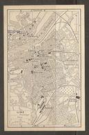CARTE PLAN 1937 AUTRICHE LINZ - KARTE 1937 ÖSTERREICH - Topographische Karten