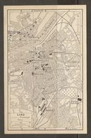CARTE PLAN 1937 AUTRICHE LINZ - KARTE 1937 ÖSTERREICH - Topographical Maps
