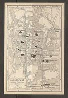 CARTE PLAN 1937 AUTRICHE KLAGENFURT - KARTE 1937 ÖSTERREICH - Topographical Maps