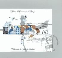 Por. Block 080 Kommunikationsmittel Neuf Gestempelt Used - Blocs-feuillets