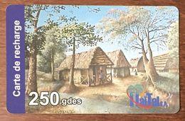 HAÏTI HAITEL 250 GDES EXP LE 31/10/2006 CARTE PRÉPAYÉE PREPAID CARTES TÉLÉPHONIQUE PHONECARD CARD - Haïti