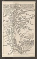 CARTE PLAN 1937 AUTRICHE INNSBRUCK Et Ses ENVIRONS - KARTE 1937 ÖSTERREICH INNSBRUCK Und UMGEBUNG - Topographische Karten