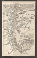CARTE PLAN 1937 AUTRICHE INNSBRUCK Et Ses ENVIRONS - KARTE 1937 ÖSTERREICH INNSBRUCK Und UMGEBUNG - Topographical Maps