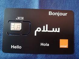 Maroc Marokko Morocco  Orange Carte Sim Gsm Avec Puce - Marokko