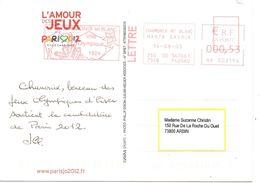 2005 Chamonix Soutient La Candidature De Paris Pour Les Jeux Olympiques De 2012 - Winter 1924: Chamonix
