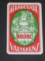 Oude Speelkaart AERSCHOTSCHE BRUINE Brouwerij VALVEKENS - AARSCHOT - Cartes à Jouer