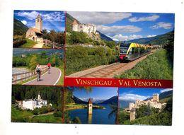 Carte Val Venosta Train Velo Flamme Sur Sarsina - Italia