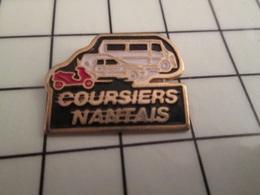 316b Pin's Pins / Beau Et Rare / THEME : TRANSPORTS / LES COURSIERS NANTAIS - Transportes
