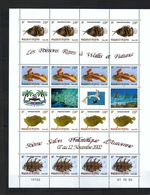 WALLIS & FUTUNA Blocs Et Feuillets 2002 : ''Poissons Rares'' Neuf** TTB - Blocks & Kleinbögen