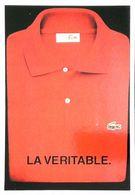 Publicité Lacoste Polo Rouge - Publicidad