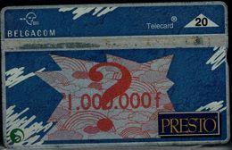 BELGIUM 1992 PHONECARD PRESITO USED VF!! - Belgique