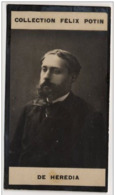 José María De Heredia Poète Administrateur Bibliothèque Arsenal Né à Cuba † Bourdonné- Collection Photo Felix POTIN 1900 - Félix Potin