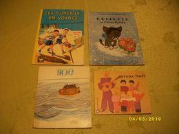 Lot N°4de 4 Livres - Libri, Riviste, Fumetti
