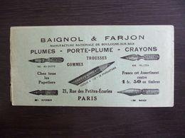 Erinnophilie. Publicité Baignol & Farjon. 20 Vignettes Bordeaux Et La Région Bordelaise. - Cinderellas