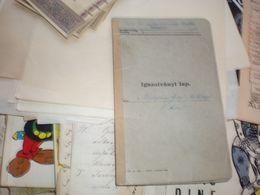 Szabadka Subotica  Igazolanyi Lap WW2 1942 Okupation Backa - Historische Dokumente