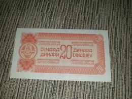 YUGOSLAVIA 20 DINARA 1944. AUNC - BACK PROOF - Yougoslavie