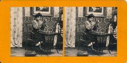 Stereo, Femme Étude Artistique, La Puce No.1, S.I.P.. - Visionneuses Stéréoscopiques