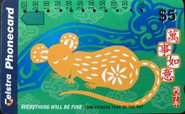 AUSTRALIE  -  Telstra  -   Everything Will Be Fine  -  $ 5 - Australie