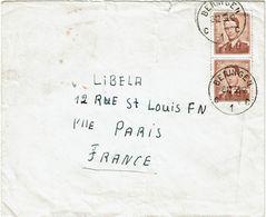 CTN63/ETR - BELGIQUE LETTRE DU 8/12/1959 - Belgium