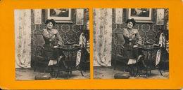 Stereo, Femme Étude Artistique, La Puce No.2, S.I.P.. - Visionneuses Stéréoscopiques