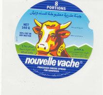Y 608 /   ETIQUETTE DE FROMAGE - PICON  NOUVELLE VACHE    8 PORTIONS - Käse