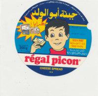 Y 624  /   ETIQUETTE DE FROMAGE    - REGAL  PICON   CHEESE SPREAD  74 H. - Käse