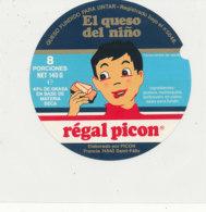 Y 633 /   ETIQUETTE DE FROMAGE    - REGAL    PICON  EL QUESO DEL NINO    8   PORCIONES - Käse