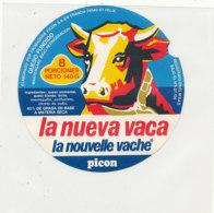 Y 634 /   ETIQUETTE DE FROMAGE    - PICON  LA NUEVA VACA     8   PORCIONES - Käse