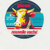 Y 635 /   ETIQUETTE DE FROMAGE    - PICON   NOUVELLE VACHE     8   PORTIONS - Käse