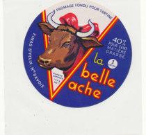 Y 638 /   ETIQUETTE DE FROMAGE     LA BELLE VACHE   FINAS  ST FELIX Hte SAVOIE     1  ENTIER - Käse