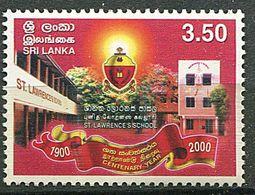Sri Lanka ** N° 1259 - Cent. De L'Ecole St Lawrence - Sri Lanka (Ceilán) (1948-...)