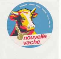 Y 666 /   ETIQUETTE DE FROMAGE    NOUVELLE VACHE - Fromage