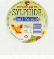 Y 671 /   ETIQUETTE DE FROMAGE   LA VACHE QUI RIT  SYLPHIDE - Fromage