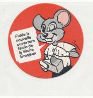 Y 675 /   ETIQUETTE DE FROMAGE     CARTONNEE ????? FUTEE LA NOUVELLE OUVERTURE FACILE LA VACHE GROSJEAN - Fromage