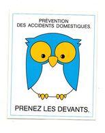 Autocollant Prévention Des Accidents Domestiques Prenez Les Devants- Format : 11x9cm - Adesivi